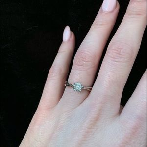 Small Diamonds Size 5 Ring